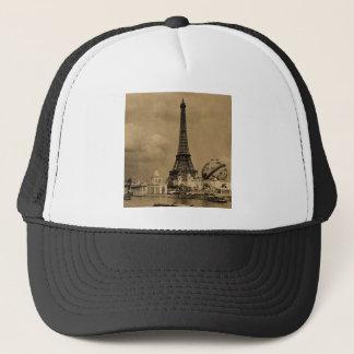 The Eiffel Tower from the Seine Paris Exposition Trucker Hat