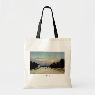 The Eiffel Tower Henri Rousseau  1898 Canvas Bag