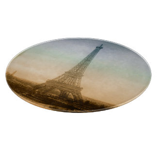 The Eiffel Tower In Paris Cutting Boards