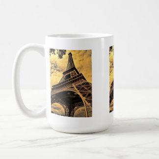 The Eiffel tower in Paris France Coffee Mugs