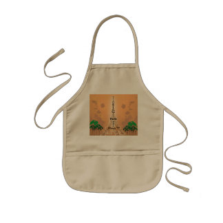 The Eiffel Tower Kids' Apron