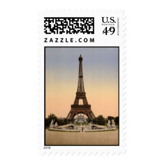 The Eiffel Tower - Med Postage