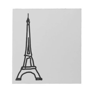 The Eiffel Tower Memo Notepads