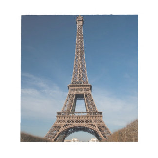 The Eiffel Tower Notepad