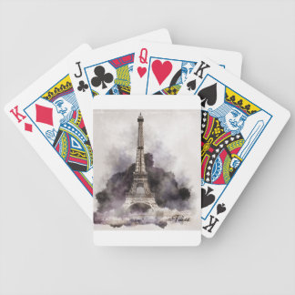 The Eiffel Tower of Paris Bicycle Playing Cards