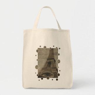 The Eiffel Tower, Paris bags