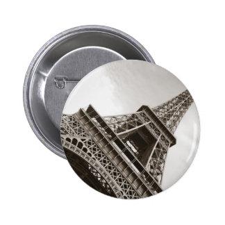 The Eiffel Tower Paris Pinback Buttons