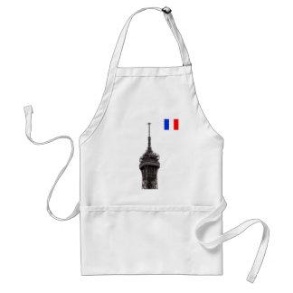 The Eiffel Tower Paris France Adult Apron