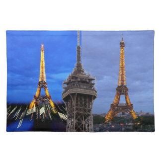 The Eiffel Tower Paris France Cloth Placemat
