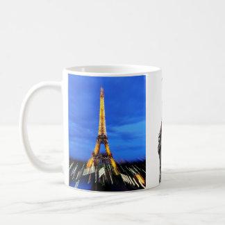 The Eiffel Tower Paris France Coffee Mug