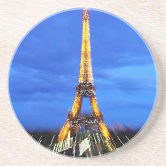 The Eiffel Tower Paris France Drink Coaster