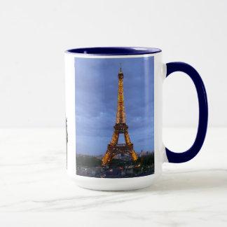The Eiffel Tower Paris France Mug