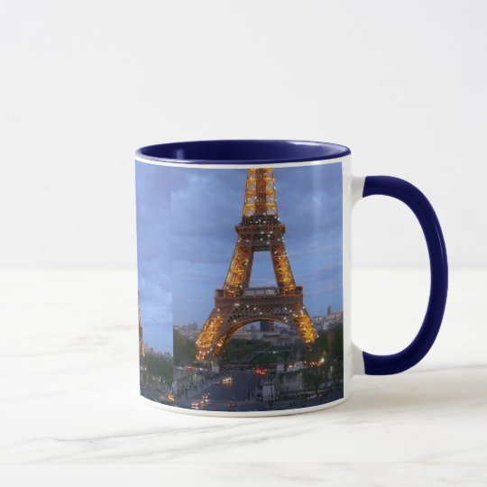 The Eiffel Tower Paris France Mug