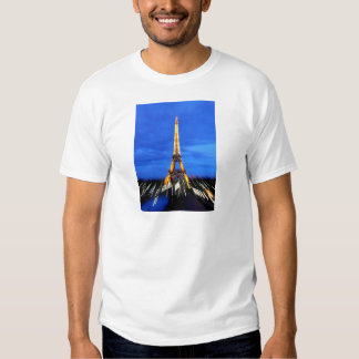 The Eiffel Tower Paris France Tee Shirt