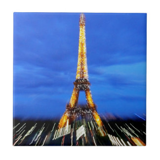 The Eiffel Tower Paris France Tile