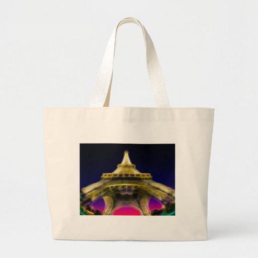The Eiffel Tower, Paris, France Tote Bag
