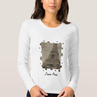 The Eiffel Tower, Paris light shirts