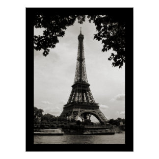 The Eiffel Tower, Paris - poster