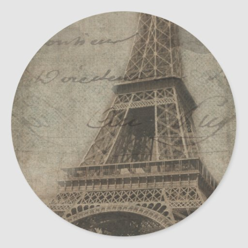 The Eiffel Tower, Paris stickers