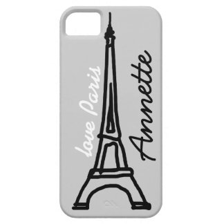 The Eiffel Tower personalized iPhone SE/5/5s Case