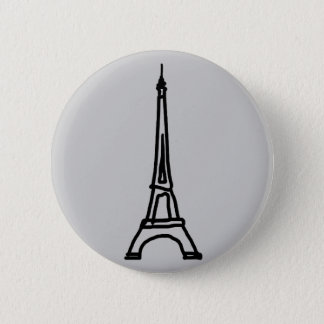 The Eiffel Tower Pinback Button