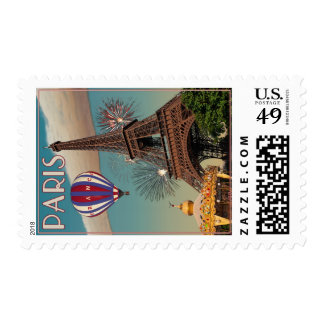 The Eiffel Tower Postage Stamp