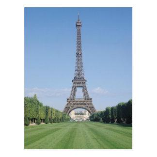 The Eiffel Tower Postcard