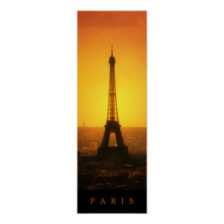 The Eiffel Tower - poster