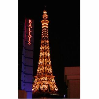 The Eiffel Tower Reproduction At Paris Las Vegas Cutout
