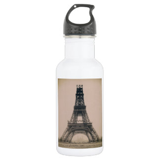 The Eiffel Tower: State of the Construction 1888 18oz Water Bottle