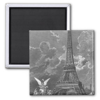 The Eiffel Tower  Universal Exhibition Magnet