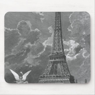 The Eiffel Tower  Universal Exhibition Mouse Pad