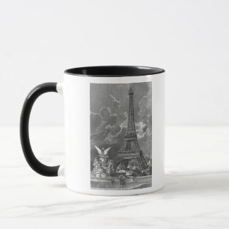 The Eiffel Tower  Universal Exhibition Mug