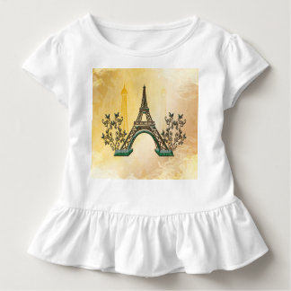 The Eiffel Tower with floral elments Shirts