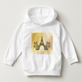 The Eiffel Tower with floral elments T Shirt