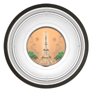 The Eiffel Tower Pet Bowl
