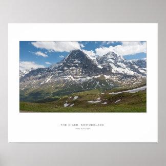 The Eiger, Switzerland - Wall Print