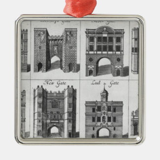 The Eight Gates of the City of London Metal Ornament