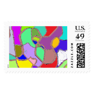 The eighties are back pastel fix ! stamps .