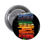 The eighties rainbow colored casette tapes pinback buttons