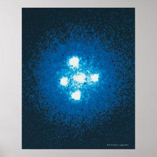 The Einstein Cross Poster
