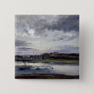 The Elbe and the New Town, Dresden Pinback Button