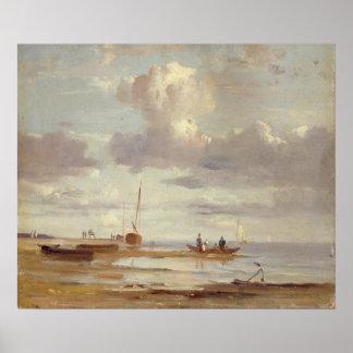 The Elbe at Blankenesee Print