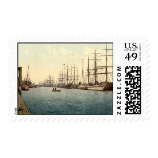The Elbe Hamburg Germany Stamps