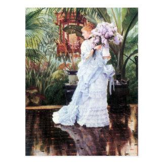 The elder Strauss by James Tissot Postcard