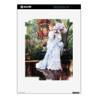 The elder Strauss by James Tissot Decals For iPad 2