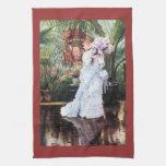The elder Strauss by James Tissot Towel