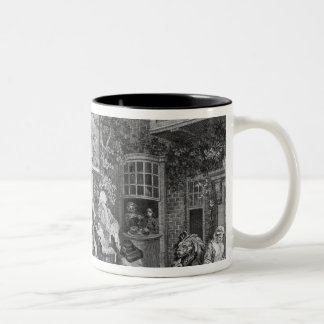 The Election II: Canvassing for Votes Two-Tone Coffee Mug