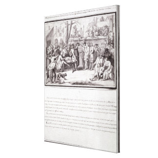 The Election of the Militia Canvas Print