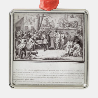 The Election of the Militia Metal Ornament